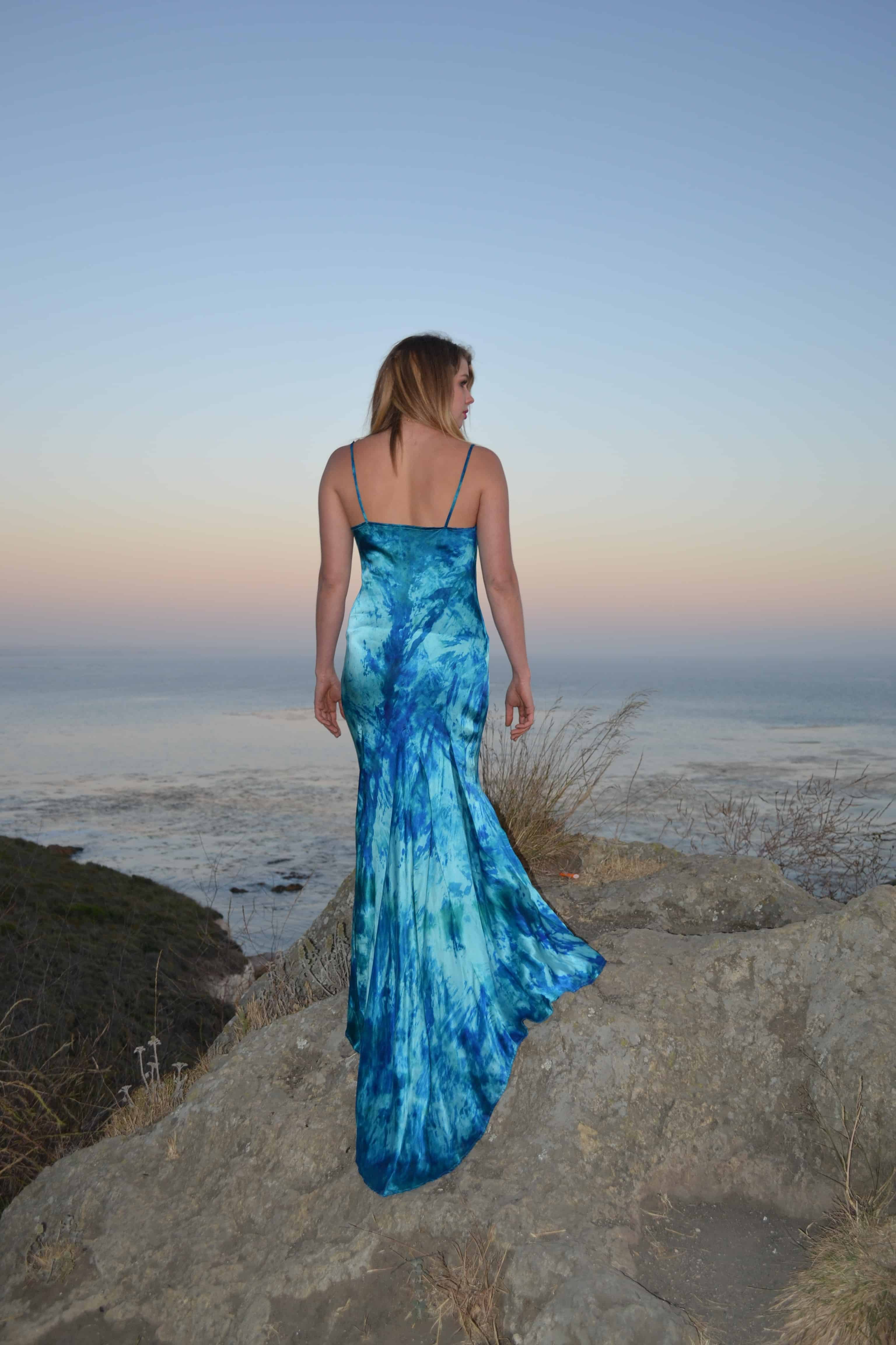 Silk Clothing - Hand Dyed One of a Kind