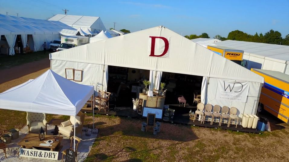The Arbors White Tents Round Top, Tx Antiques Week