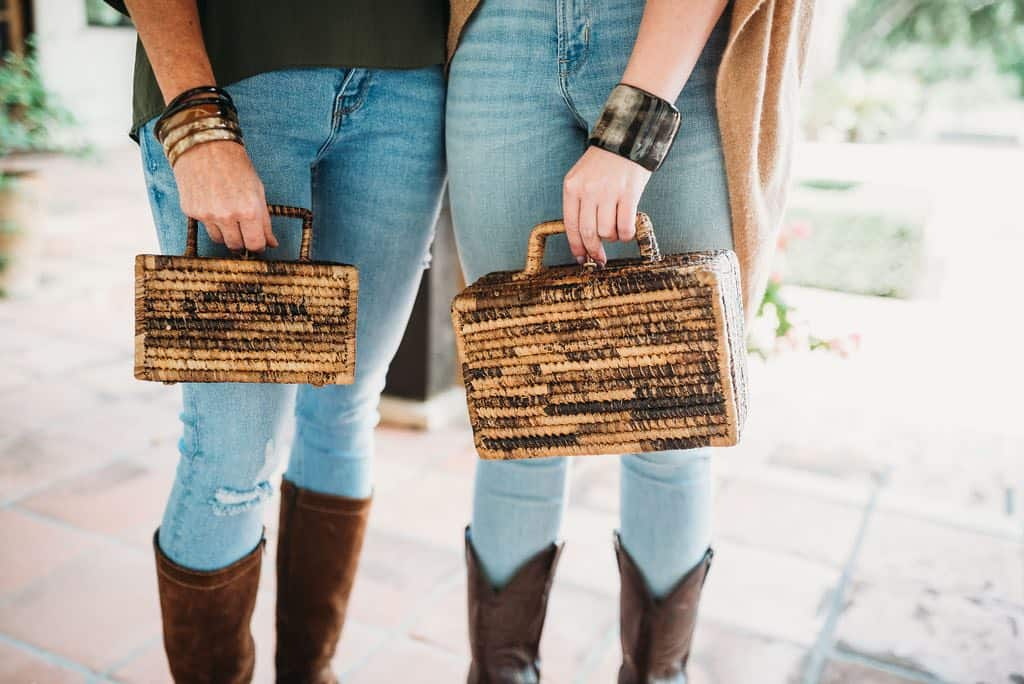 Purses made of Banana Fiber