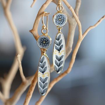 Garden Urn Earrings