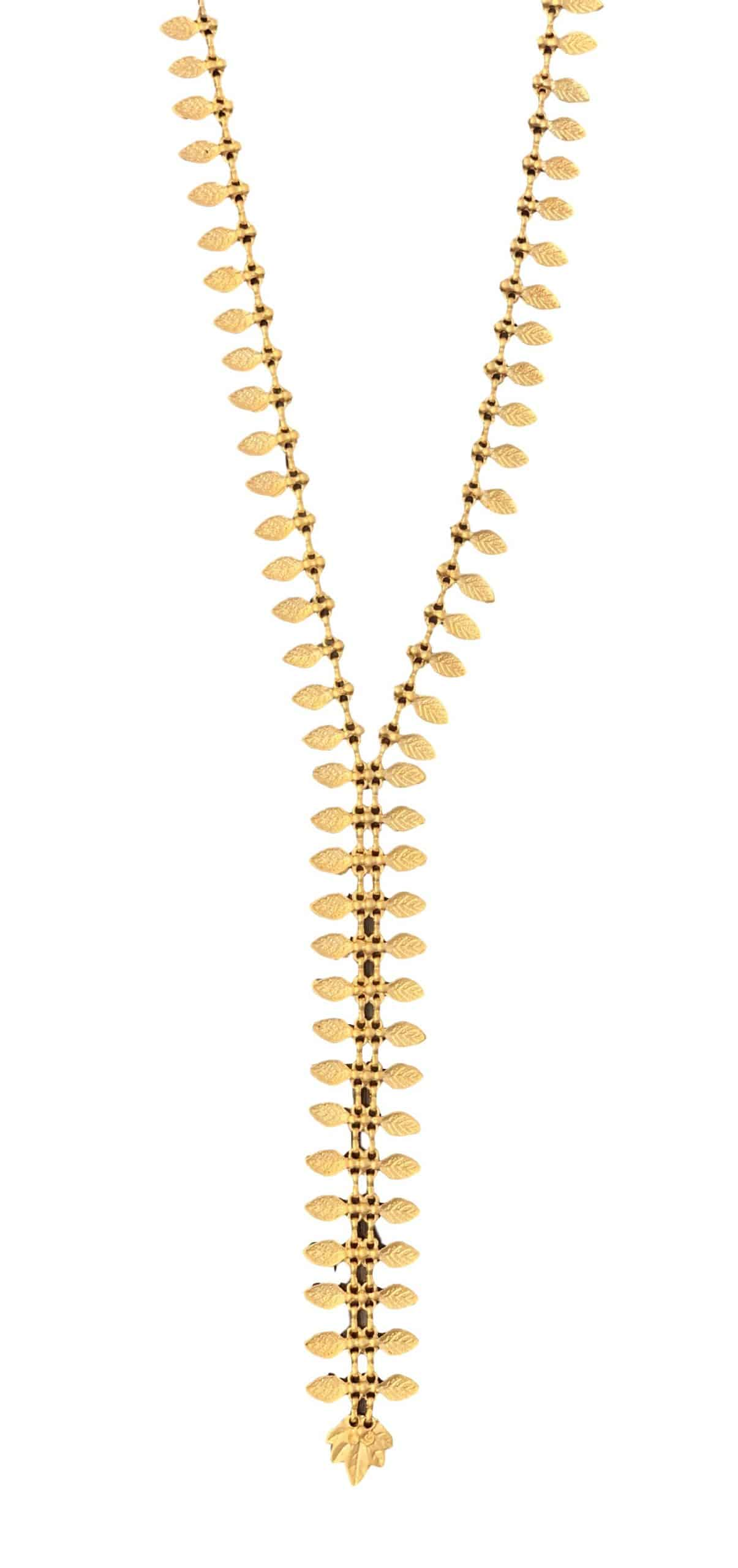 Long Zipper Necklace